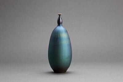 Hideaki Miyamura, 'Vase, blue hare's fur glaze'