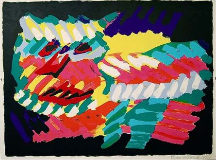 Karel Appel, 'Pink Cat', 1980
