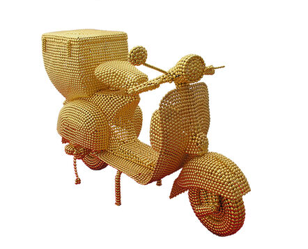 Valay Shende, 'The Golden Scooter', 2011-2012