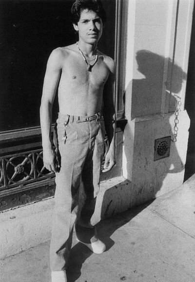 Larry Clark, 'Untitled (Hustler and Long Shadow)', 1980
