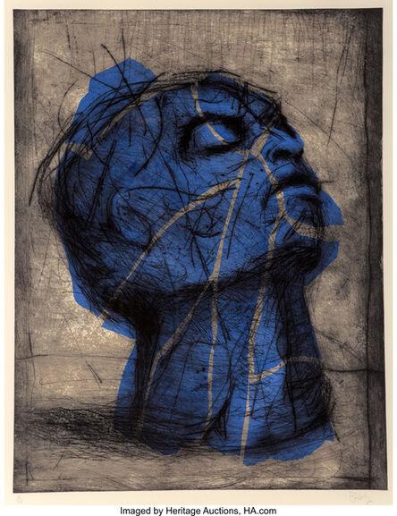 William Kentridge, 'Blue Head', 1993-98