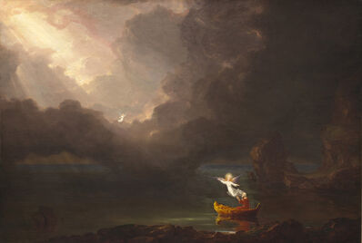Thomas Cole, 'The Voyage of Life: Old Age', 1842