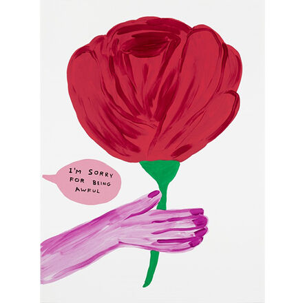 David Shrigley, 'Sorry for Being Awful', 2018