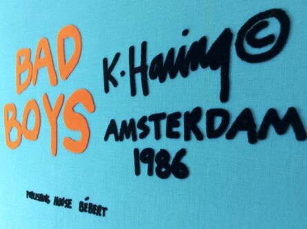 Keith Haring, 'Bad Boys (COMPLETE SUITE OF 6 WORKS)', 1986