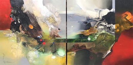 Pan QiQun, 'Harmony and Balance (Diptych)'