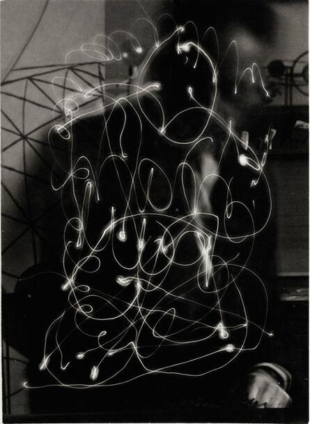 Man Ray, 'Space Writing (Self-Portrait)', 1935