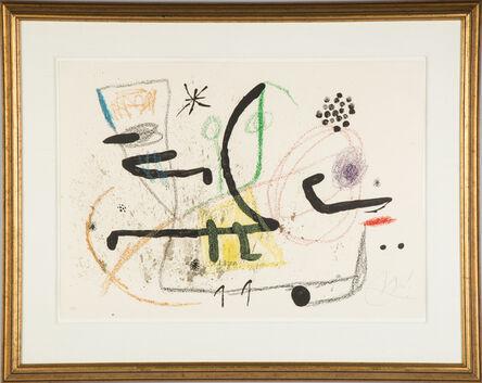 Joan Miró, 'Maravillas con Variaciones Acrosticas en el Jardin de Miro (M. 1061)', 1975