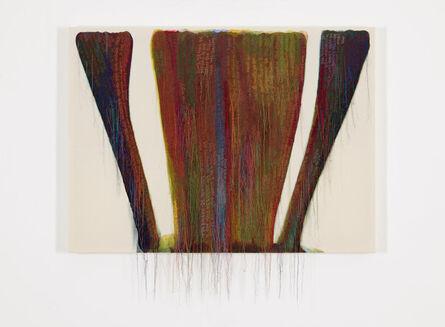 Kyungah Ham, 'Abstract Weave / Morris Louis Zayin 1958 SS01-01', 2015