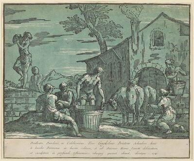 conte Antonio Maria Zanetti I after Bertoia, 'Pastoral Scene', 1741