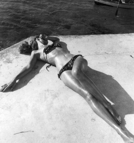 Toni Frissell, 'The First Bikini, Harper's Bazaar ', 1945