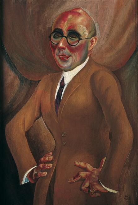 Otto Dix, 'The Jeweller Karl Krall (Der Juwelier Karl Krall)', 1923