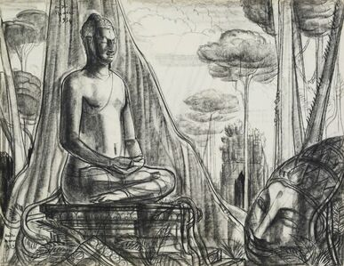 André Maire, 'Buddha in meditation', 1953
