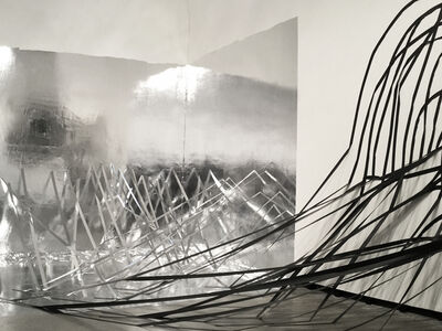 Monika Grzymala, 'Raumzeichnung (der fremde Raum)', 2016