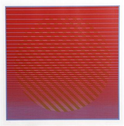 Julian Stanczak, 'Sunset from Eight Variants', 1970