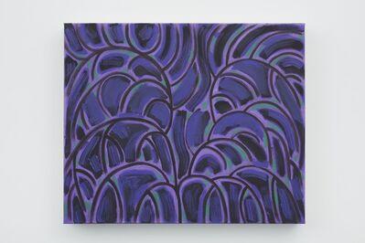 Benjamin Butler, 'Untitled Tree (Purple and Green)', 2018