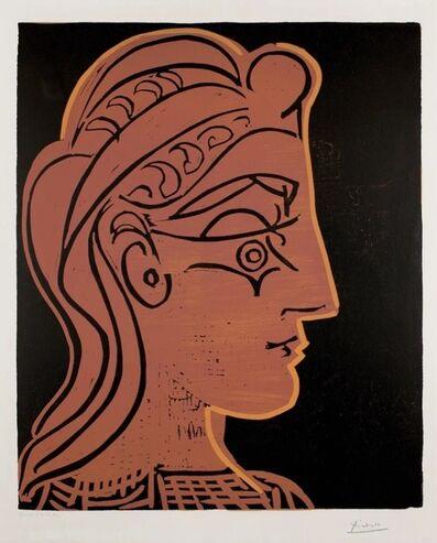 Pablo Picasso, 'Tête de Femme de profil', 1959