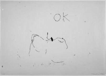 Tracey Emin, 'OK', 1997