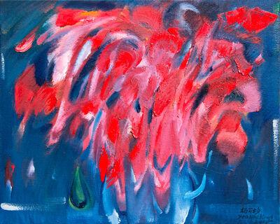 Hoe Koon Yeo, 'Red Leaves in Vase', 2015