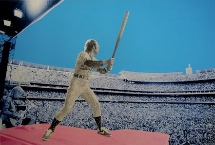 David Studwell, 'Elton John Home Run - Dodger Stadium 1975', 2019