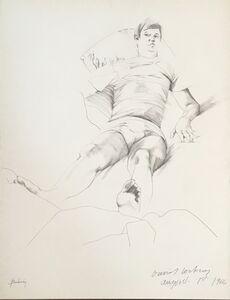 Don Bachardy, 'David Hockney', August 1-1966