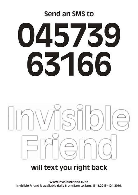 Pilvi Takala, 'Invisible Friend', 2015