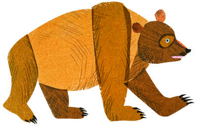 """Eric Carle, 'Illustration from """"Brown Bear, Brown Bear, What Do You See?""""', 1983"""