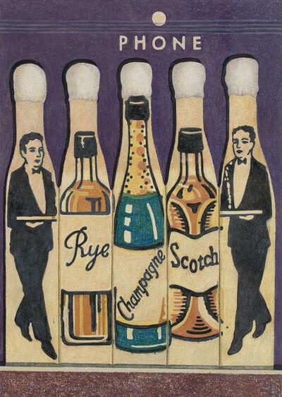 Aaron Kasmin, 'Rye, Champagne and Scotch', 2018