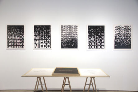 Antoni Muntadas, 'Palabras, palabras ', 2017