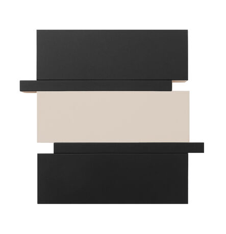 Scot Heywood, 'Stack - Black, Canvas', 2016
