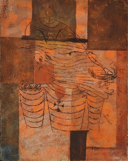 Paul Klee, 'Der Exkaiser', 1921
