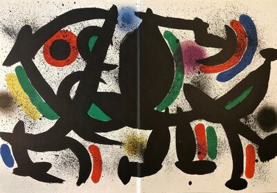 Joan Miró, 'Original LithographVIII', 1972