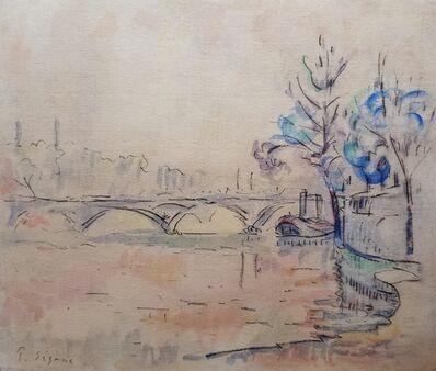 Paul Signac, 'LE PONT DES ARTS -Paris (The Bridge of Arts-Paris)', ca. 1905