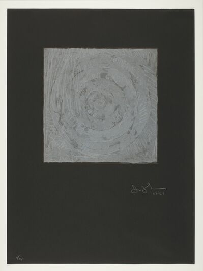 Jasper Johns, 'White Target (ULAE 54)', 1968
