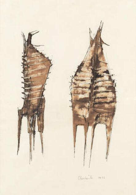Lynn Chadwick, 'Two Figures', 1956