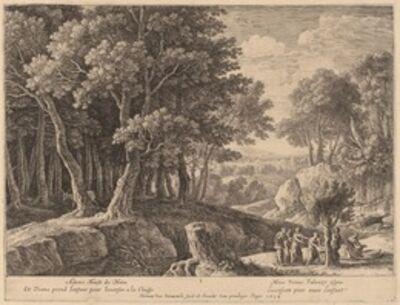 Herman van Swanevelt, 'Birth of Adonis'