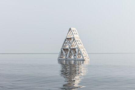 Sameer Tawde, 'Holy Boulevard Pyramid', 2018