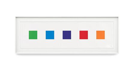 Ellsworth Kelly, 'Color Squares 1', 2011