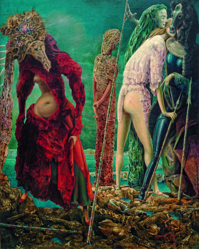 Max Ernst, 'The Antipope', December 1941–March 1942