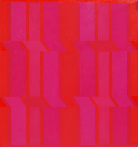 Michael Loew, 'Reds, Scarlet and Purple', 1974
