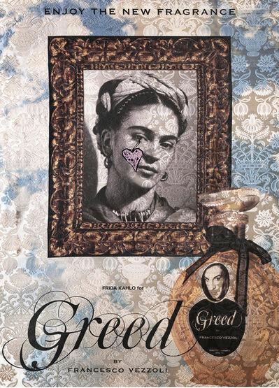 Francesco Vezzoli, 'Enjoy The New Fragrance (Frida Kahlo For Greed)', 2009