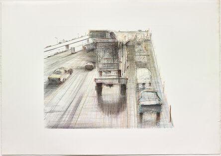 Wayne Thiebaud, 'Untitled (Cars and Trucks)', 1991