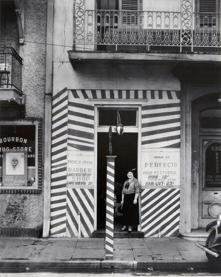 Walker Evans, 'Barber Shop New Orleans', 1936