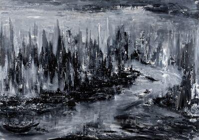 Zhou Lian Hua, 'The River Of Life (Right) (得志,澤加於民)(右圖)'