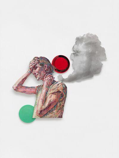 Hung Liu 刘虹, 'Hand to Brow', 2020