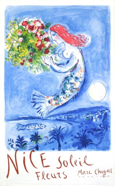 Marc Chagall, 'Bay of Angels', 1962