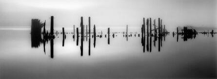 Brian Kosoff, 'Pier Pilings in Still Water', 2012
