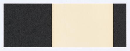 Richard Serra, 'Horizontal Reversal VIII', 2017