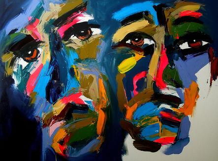 Harold Smith, 'Two Black Men', 2020