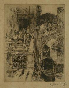 Frank Duveneck, 'Bridge of Sighs, Venice', 1883