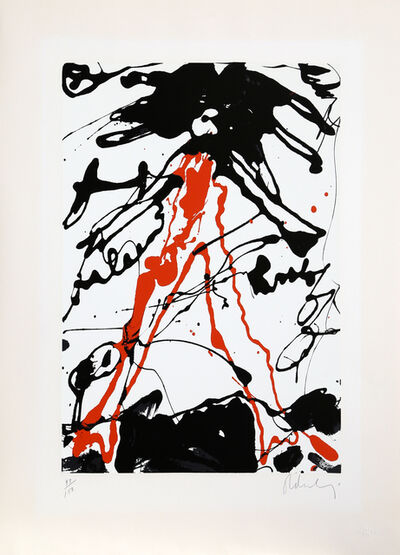 Claes Oldenburg, 'Striding Figure from Conspiracy: The Artist as Witness Portfolio', 1971